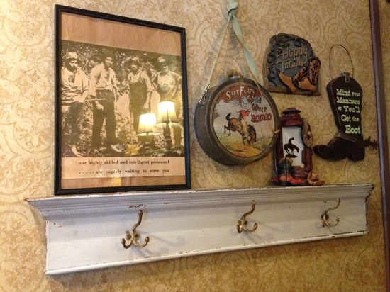 Trails Cafe and Cafe Catering: Funny antique find