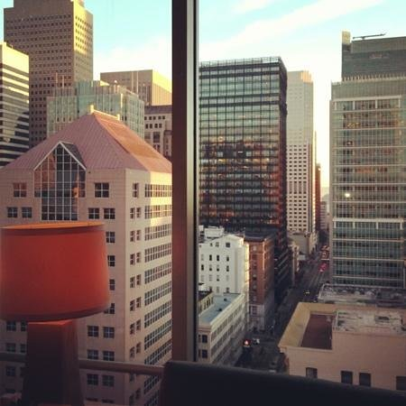 The St. Regis San Francisco:                   beautiful city view from my hotel suite