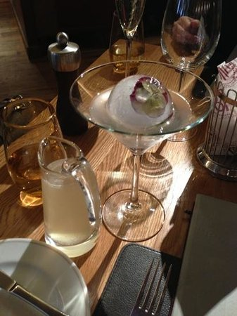 Bar Boulud:                   delicious cocktail