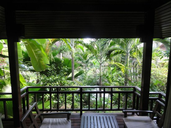 Nora Beach Resort and Spa:                   Villa Balcony