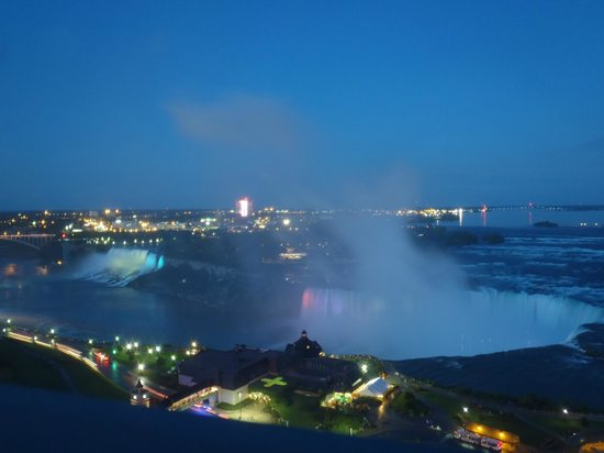 Niagara Falls Marriott Fallsview Hotel & Spa:                   View from the room