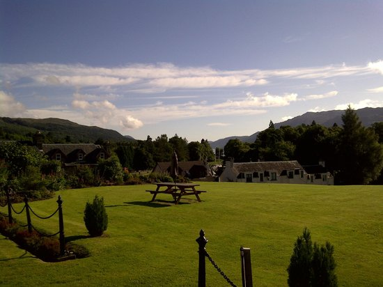 The Lovat, Loch Ness:                   A glorious View 3rd of July 2012
