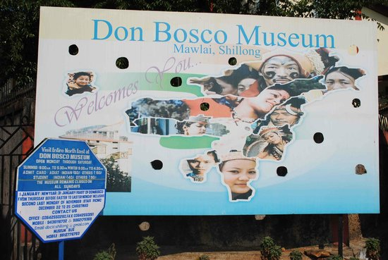Don Bosco Centre for Indigenous Cultures: map