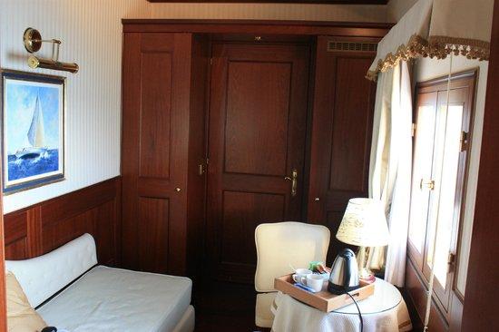 Hotel Bucintoro:                   une partie de la suite