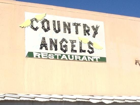 Country Angels:                   simple signage