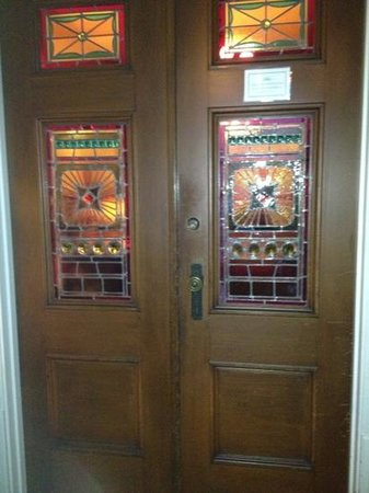 Ash Street Inn: interior entry doors
