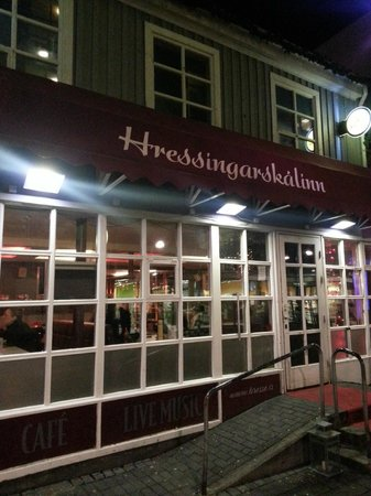 Hressingarskalinn:                   Front Entrance