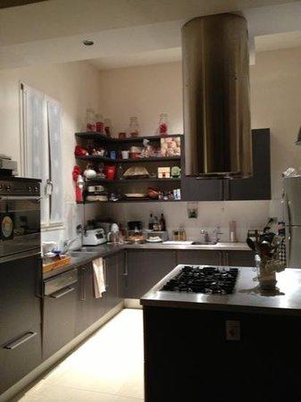 casa ilaria:                   la cucina