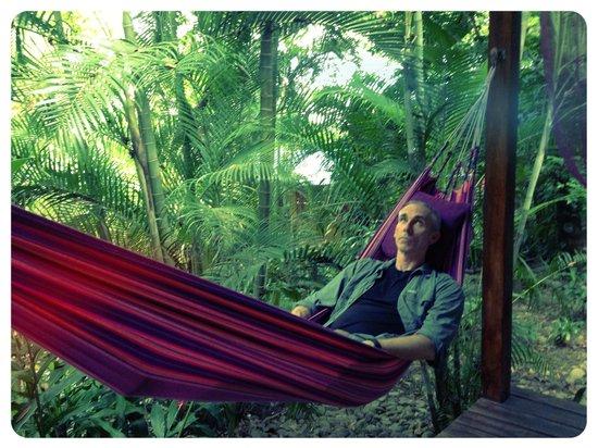 Hotel bungalows SolyLuna los Almendros.: Hammock at Bungalow Luna
