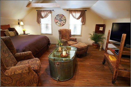 J. Palen House Bed & Breakfast : Studio Living Room