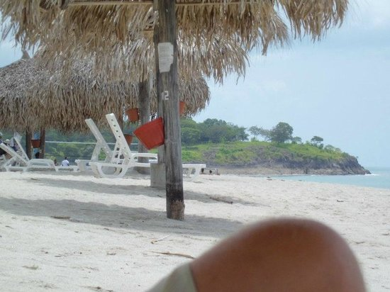 Royal Decameron Beach Resort, Golf & Casino:                   Part of private beach of Royal Decameron