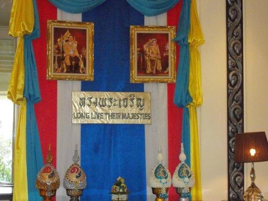 Dusit Thani Hua Hin:                                     hotel lobby