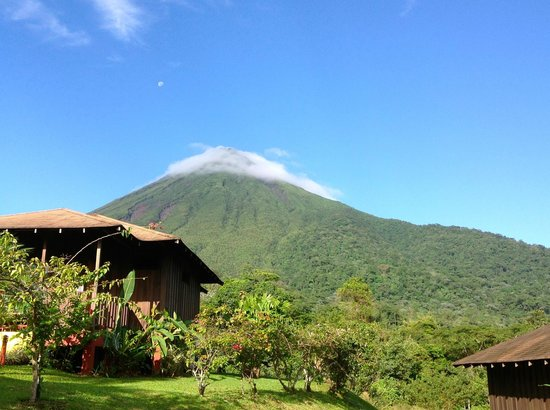 Hotel Lomas del Volcan:                                     View of