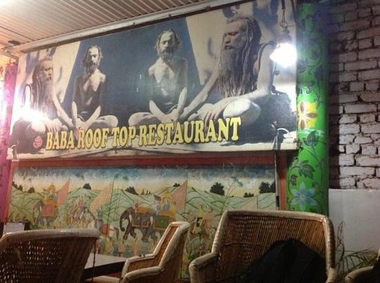 Baba Restaurant:                   baba rooftop resaturant!