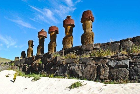 Easter Island Travel: Ahu Nao-Nao of Anakena