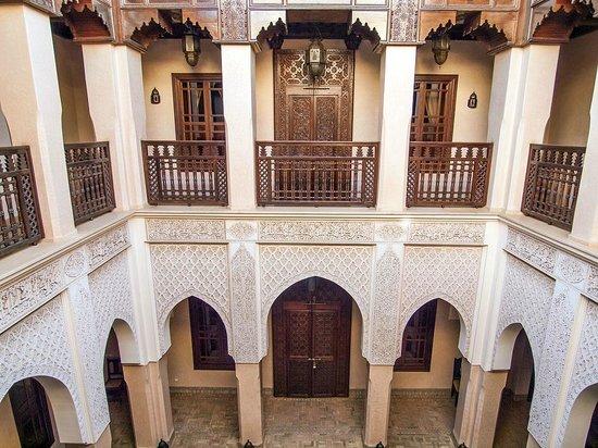 Riad Kniza:                   Interior