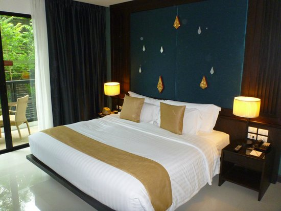 Centara Anda Dhevi Resort and Spa: Comfy bed