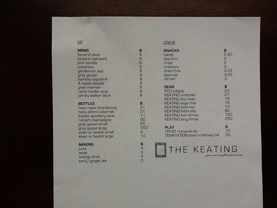 The Keating Hotel by Pininfarina:                                     Blakets and yoga mats for sale.