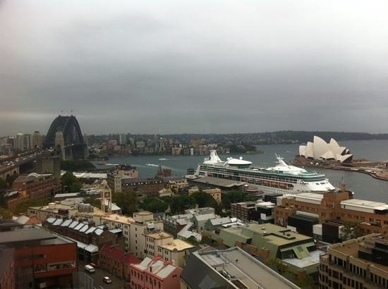 Shangri-La Hotel Sydney: view from the room on 14/F