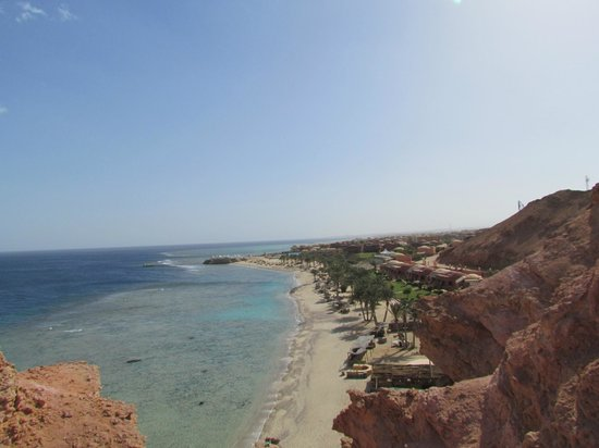Kahramana Beach Resort:                   Panoramic view from the hill