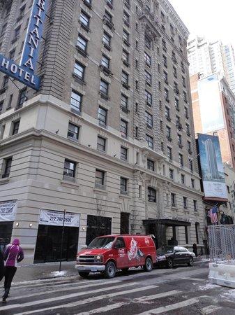 Ameritania Hotel: Façade
