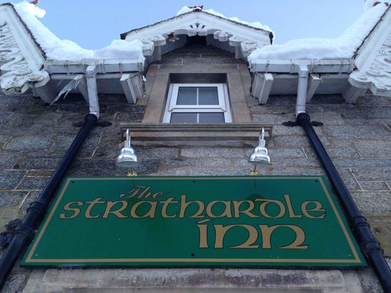 The Strathardle Inn:                   Great Location