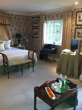 "The Bath Priory:                   Our Room - ""Heather"""