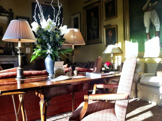 The Bath Priory Hotel:                   Hotel Drawing Room
