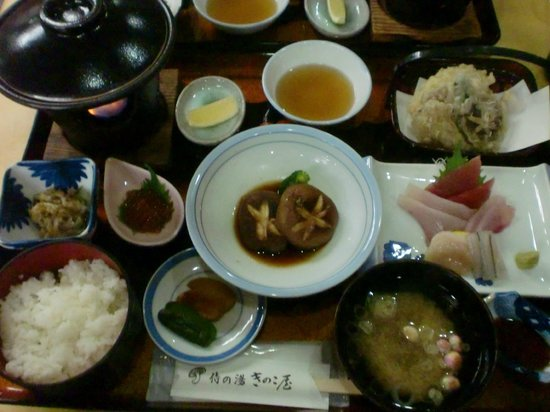 Kinokoya :                   夕食