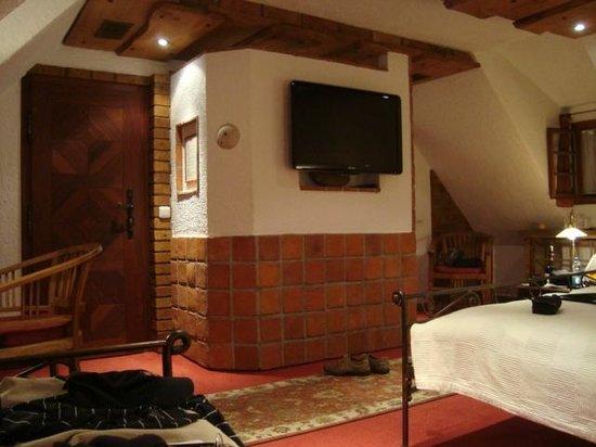 Romantik Hotel U Raka:                   Room on 2nd Floor.