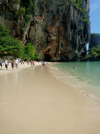 Railay Beach: Clean!