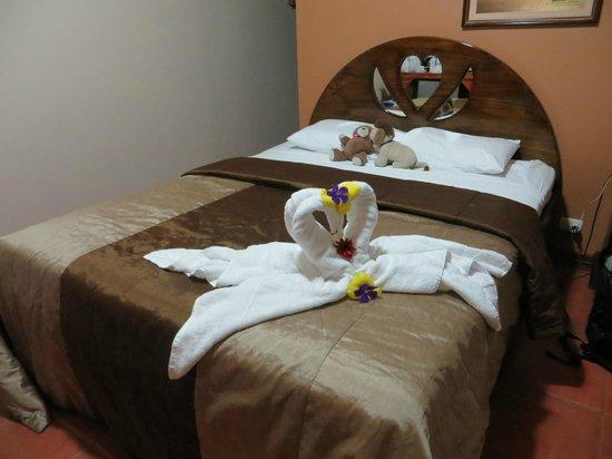 Hotel Lavas del Arenal:                   Doppelbett
