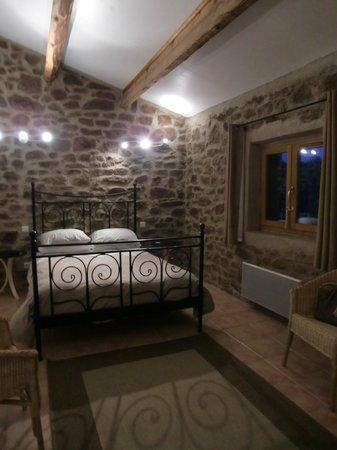 La Borio:                   La chambre de notre séjour