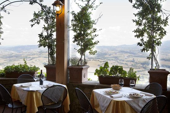Ristorante Umbria : Terrazza Panoramica