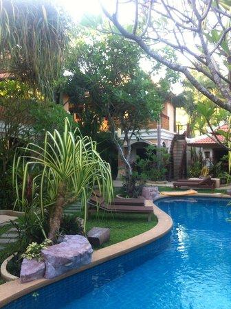 Le Viman Resort :                   Vue de la cour intérieure