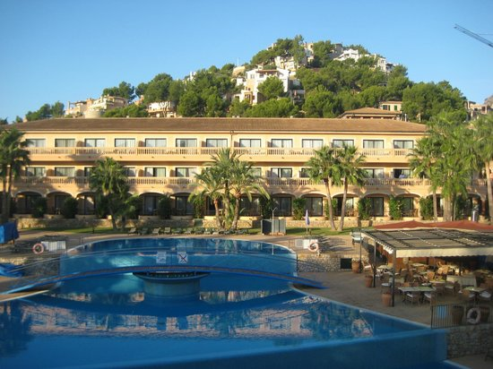 مون بورت هوتل آند سبا:                                     View from hotel room                                  