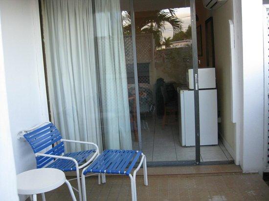 Holger Danske Hotel:                   room terrace
