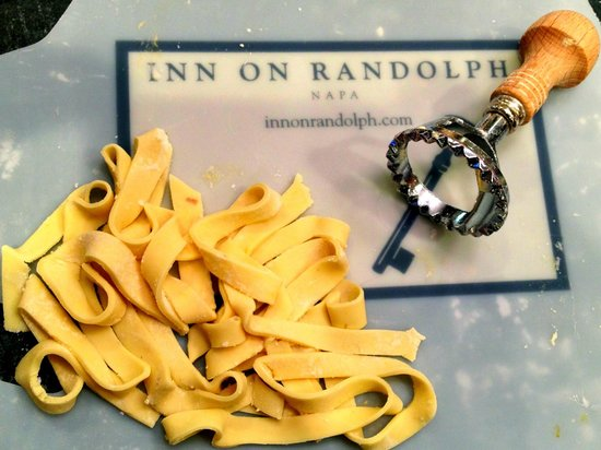 Inn on Randolph:                   Pasta from gluten-free cooking class