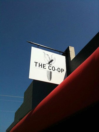 The Co-Op Gourmet Grocery and Deli: Sign