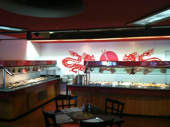 Dells Dynasty Restaurant & Lounge: Buffet