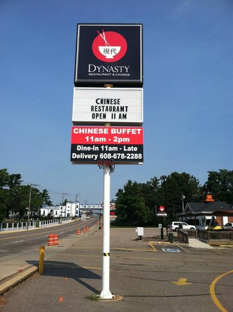 Dells Dynasty Restaurant & Lounge: Sign