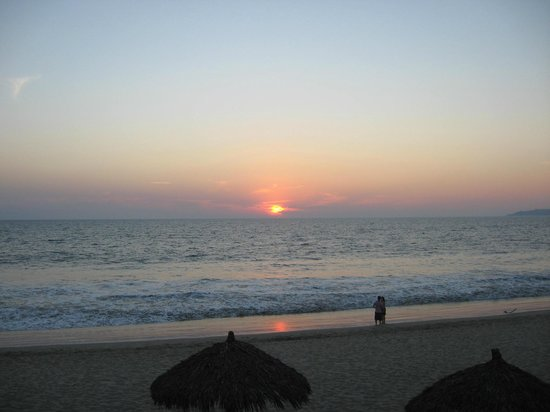 Samba Vallarta All Inclusive:                   View of sunset
