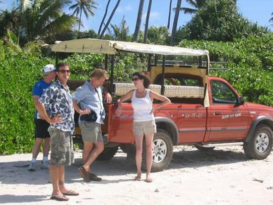 Island Eco Tours - Day Tours : On the Beach