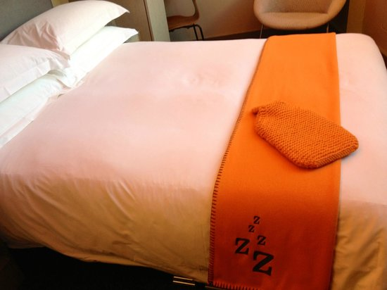 The Zetter Hotel:                   Cozy Bed