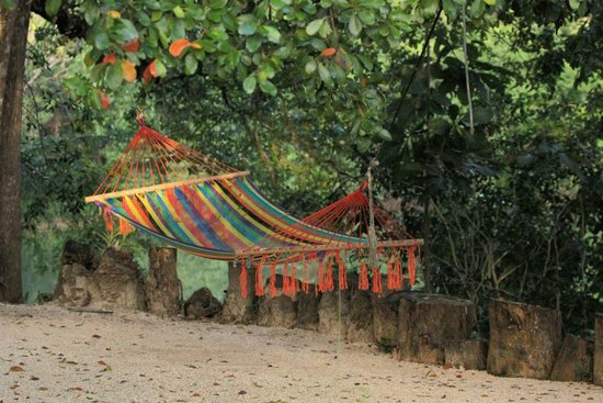Black Orchid Resort: Hammock By River