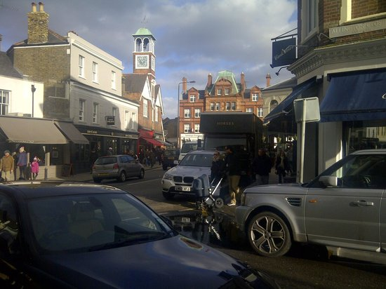 Cafe Rouge - Wimbledon :                   Scenic view from our table