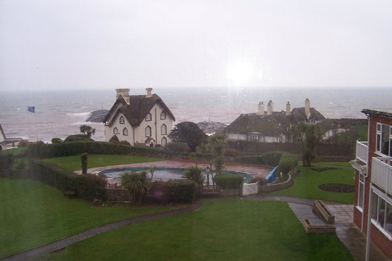 Sidmouth Harbour Hotel:                   This is the view from our room.