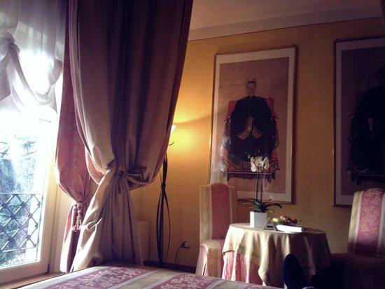 L'Albereta:                   Relax in camera