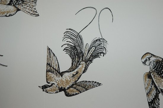 هوتل مدموزيل:                   L'une des décorations de la chambre 10                 