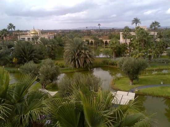 Palais Namaskar:                   view from room